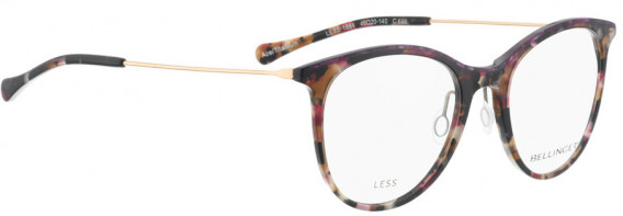 BELLINGER LESS1884 glasses in Purple-Brown Pattern