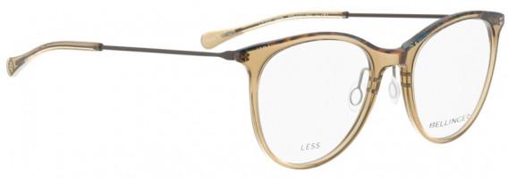 BELLINGER LESS1884 glasses in Brown Transparent