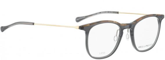 BELLINGER LESS1883 glasses in Grey Transparent