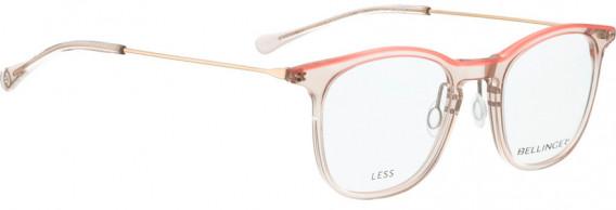 BELLINGER LESS1883 glasses in Pink Transparent