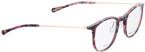 BELLINGER LESS1883 glasses in Purple Pattern