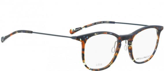 BELLINGER LESS1883 glasses in Brown Blue Pattern