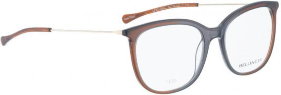 BELLINGER LESS1842 glasses in Grey/Brown Transparent
