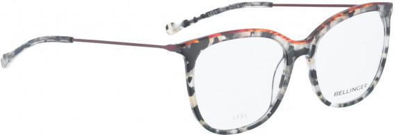 BELLINGER LESS1842 glasses in Grey Pattern/Red