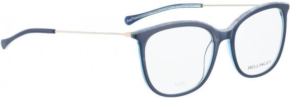 BELLINGER LESS1842 glasses in Blue Transparent