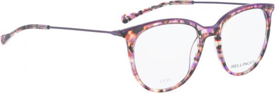 BELLINGER LESS1841 glasses in Purple Pattern