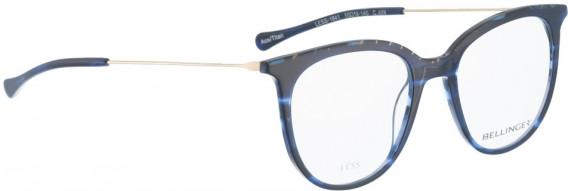 BELLINGER LESS1841 glasses in Blue Pattern
