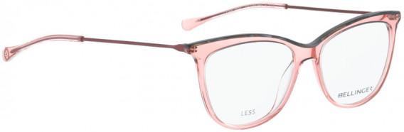BELLINGER LESS1832 glasses in Pink Crystal