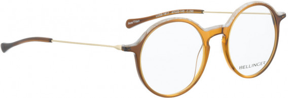 BELLINGER LESS1817 glasses in Brown Transparent