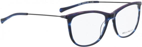 BELLINGER LESS1816 glasses in Blue Pattern