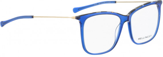 BELLINGER LESS1815 glasses in Blue Transparent