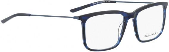 BELLINGER LESS1814 glasses in Blue Pattern