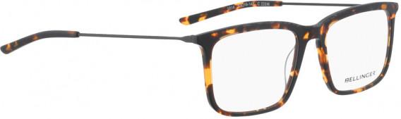 BELLINGER LESS1814 glasses in Brown Pattern