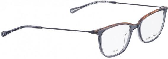 BELLINGER LESS1812 glasses in Transparent Grey