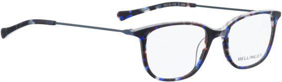 BELLINGER LESS1812 glasses in Blue Pattern