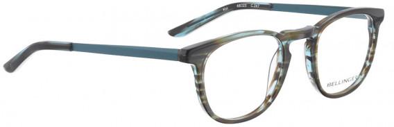 BELLINGER KOI glasses in Blue Pattern