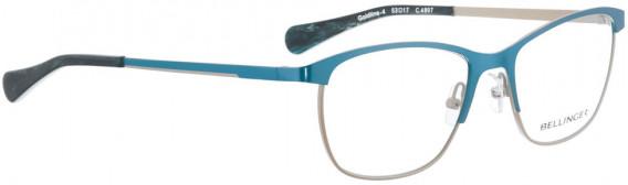 BELLINGER GOLDLINE-4 glasses in Light Blue