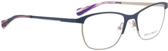 BELLINGER GOLDLINE-4 glasses in Navy Blue