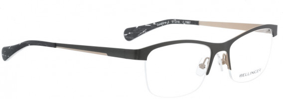 BELLINGER GOLDLINE-3 glasses in Grey