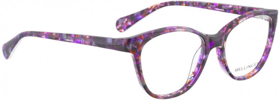 BELLINGER GLOW glasses in Purple Pattern