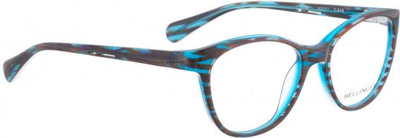 BELLINGER GLOW glasses in Purple Turquoise