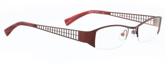 BELLINGER G-GATE glasses in Burgundy