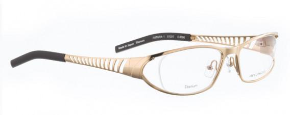 BELLINGER FUTURA-1 glasses in Gold