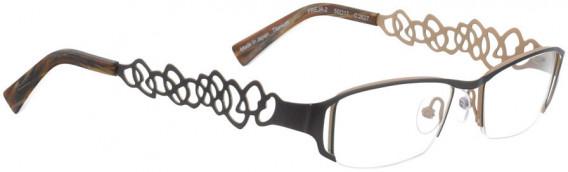 BELLINGER FREJA-2 glasses in Chocolate Brown
