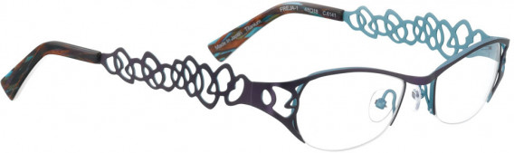 BELLINGER FREJA-1 glasses in Purple/Blue