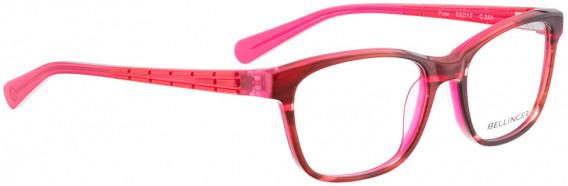 BELLINGER FLOW glasses in Brown Pink Pattern