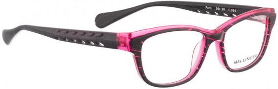 BELLINGER FERN glasses in Black Pink Pattern