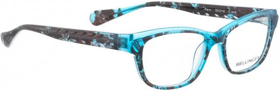 BELLINGER FERN glasses in Turquoise Pattern