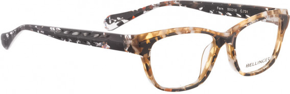 BELLINGER FERN glasses in Brown Pattern