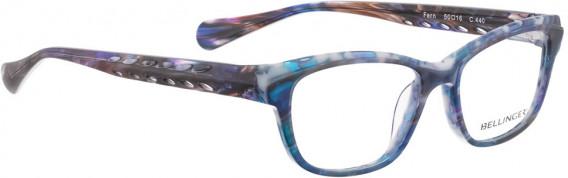 BELLINGER FERN glasses in Blue Pattern