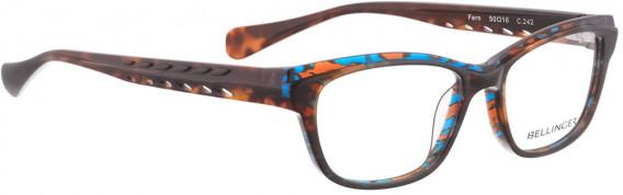 BELLINGER FERN glasses in Brown Blue Pattern
