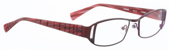 BELLINGER EMPIRE glasses in Aubergine