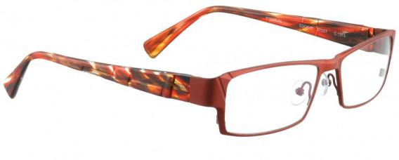 BELLINGER EDGE-1 glasses in Matt Red