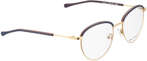 BELLINGER CROWN-2 glasses in Gold