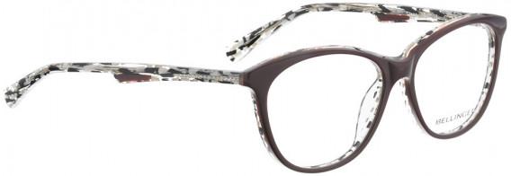 BELLINGER CLEAR glasses in Dark Red