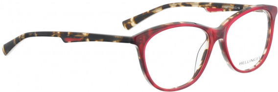 BELLINGER CLEAR glasses in Red Pattern