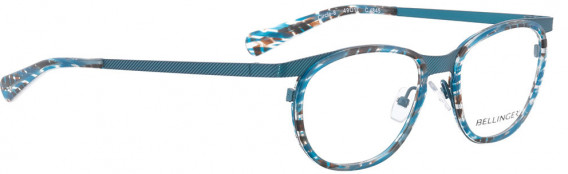BELLINGER CIRCLE-8 glasses in Light Blue