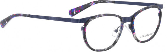 BELLINGER CIRCLE-8 glasses in Dark Blue