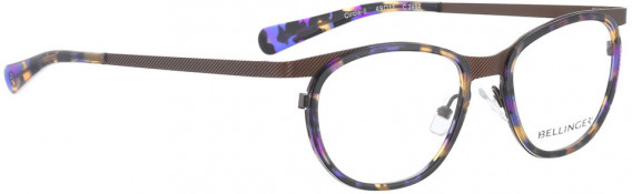 BELLINGER CIRCLE-8 glasses in Brown