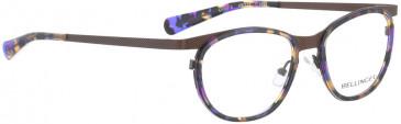 BELLINGER CIRCLE-8 glasses in Tortoiseshell Purple