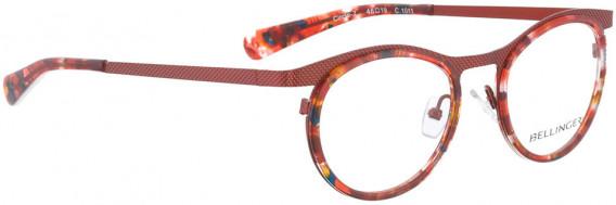 BELLINGER CIRCLE-7 glasses in Red
