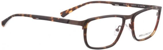 BELLINGER CIRCLE-6 glasses in Matt Brown