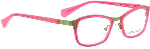 BELLINGER CIRCLE-4 glasses in Green Pink