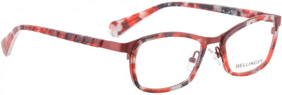BELLINGER CIRCLE-4 glasses in Red Pattern