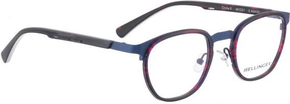 BELLINGER CIRCLE-3 glasses in Blue Pattern
