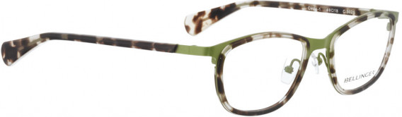 BELLINGER CIRCLE-1 glasses in Green